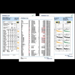 تست کابل شبکه و تجهیزات پروژه (Sample Test)